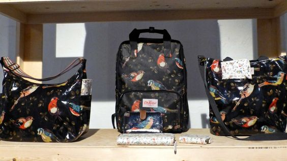The new bird print in black at Cath Kidston for winter 2013