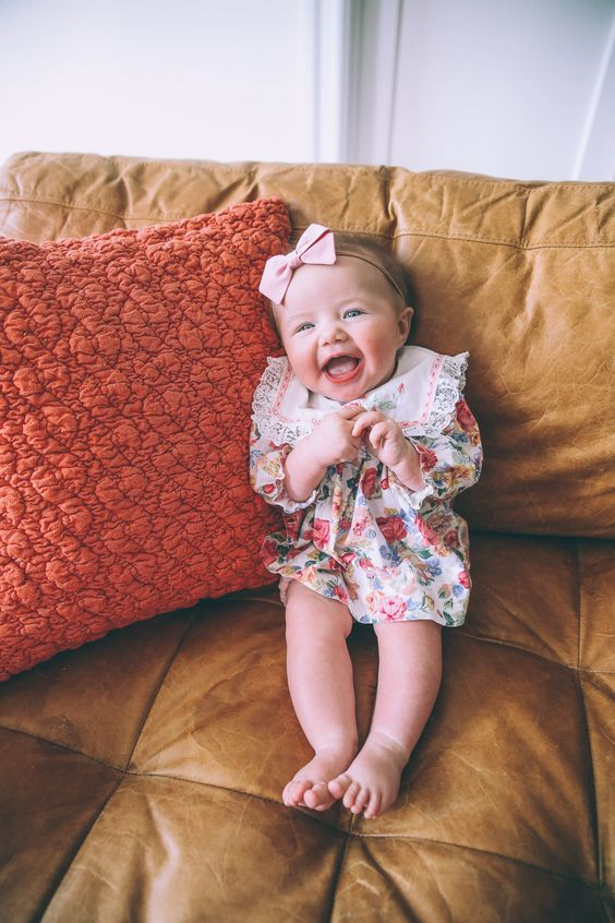 How cute is this baby girl? #YoungFashionista #SwellStyle