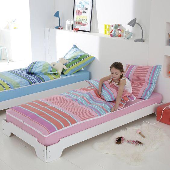"""Conjunto com edredon """"pronto a dormir"""", motivo odile, cor rosa La Redoute Interieurs   La Redoute"""