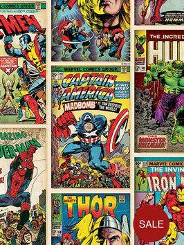 http://www.very.co.uk/marvel-graham-brown-comics-strip-wallpaper-multi/1458067916.prd