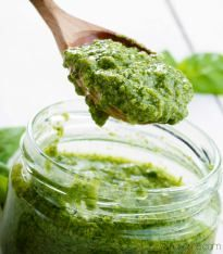 Healthy 5 Minute Vegan Cashew Pesto