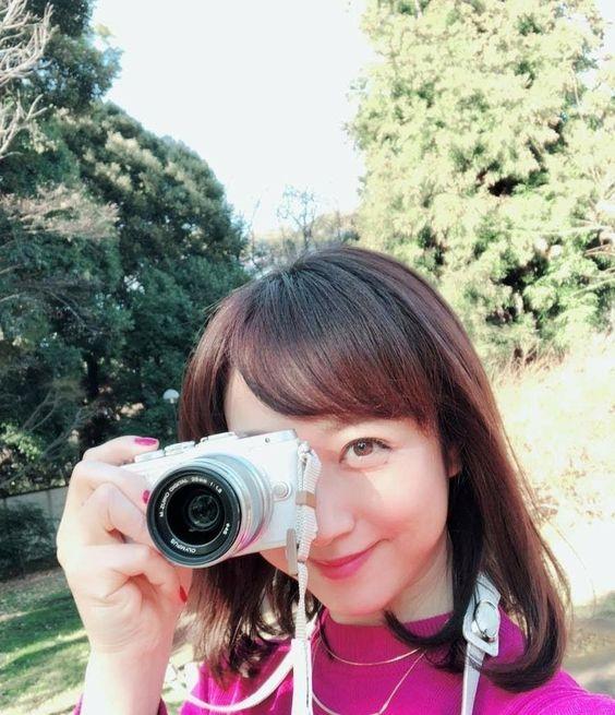 川田裕美アナウンサーのカメラ