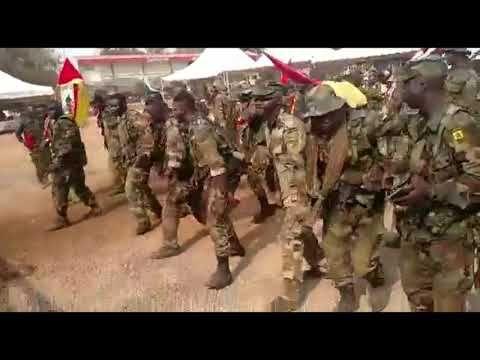 Ghana Army Dance On Master Kg Jerusalema Youtube In 2020 Army Dance Ghana