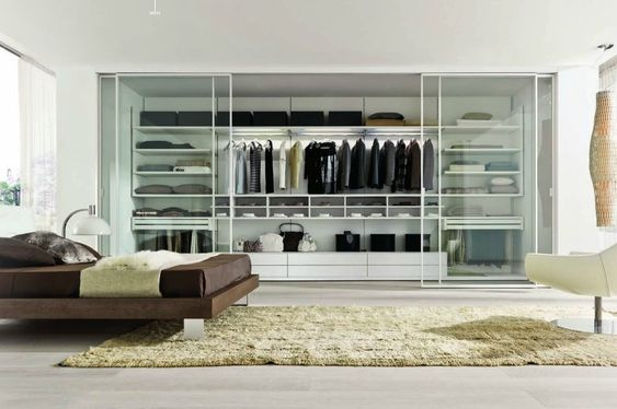 Dream Closets by Italian Designers Gruppo Euromobil