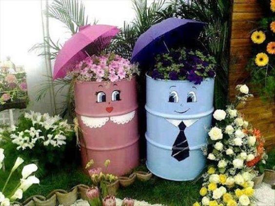 עיצובים מקוריים לגינה: