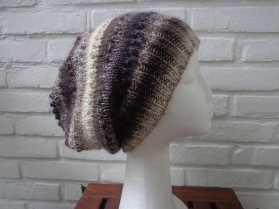XL Beanie UNIKAT 100% feinste Wolle mit von flowerchildbyAvK