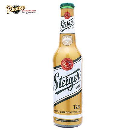 Bia Steiger Gold chai 330ml