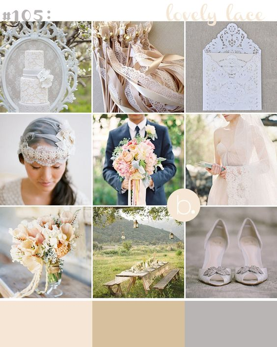 Lovely lace - b.loved weddings