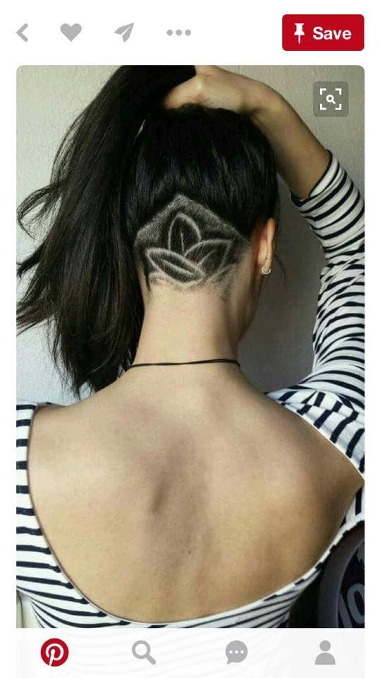 21 undercuts for a hairstyle thats badass af frisyrer och inspiration - Undercut Nacken Muster