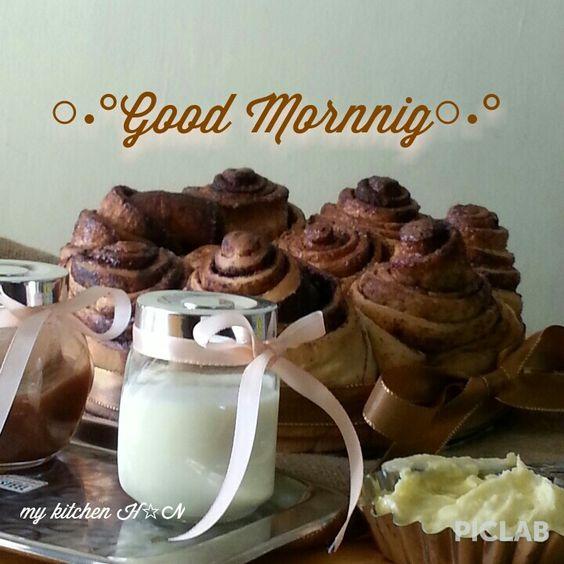 Good morning...Cinamon buns