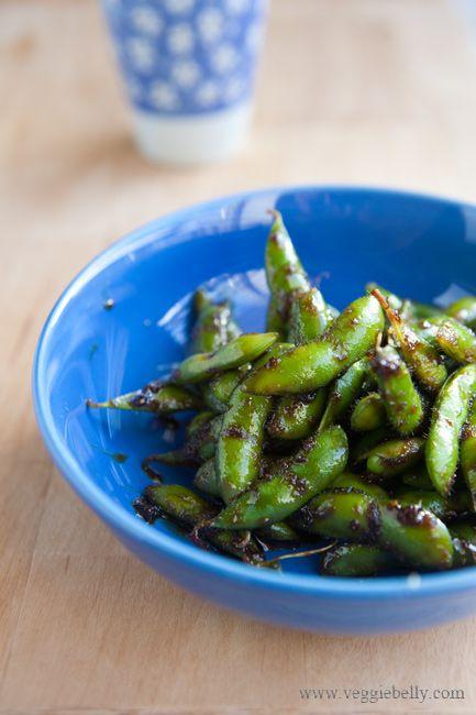 ... edamame edemame recipes snack edamame glaze glazed soybeans soy