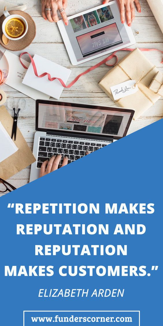 Repetition Makes Reputation And Reputation Makes Customers