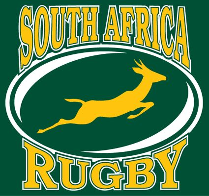 The Springbok - our official South African rugby emblem worn on the green & gold jersey.