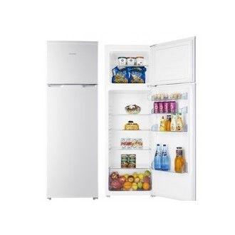 #Frigorífico @HISENSE RT351D4AW1 dos puertas reversible, cíclico, clase energética A+, 1.68 mts, defrost frigorífico/congelador: auto/manual, capacidad total neta: 270 litros, capacidad total neta del frigorífico: 215 litros, capacidad total neta del congelador: 55 litros de color blanco por 259,00 euros en #Crilanda