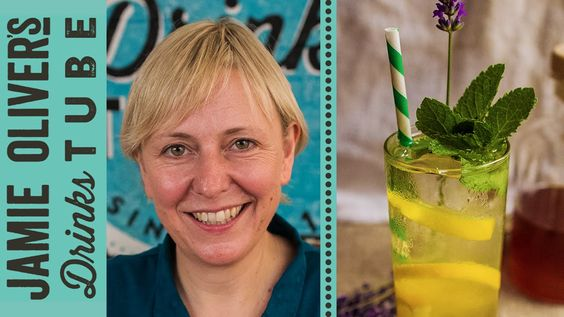 Lavender & Honeysuckle Fizz | Lottie Muir - an alcohol-free, grown up soft drink that is... : Jamie Oliver's Drinks Tube - 24 Nov 2014