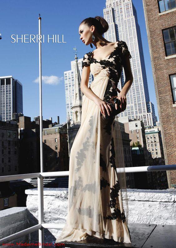 Sherri Hill 1600, Madame Bridal, Prom 2014, Sherri Hill Prom Dresses, Madame Bridal Prom