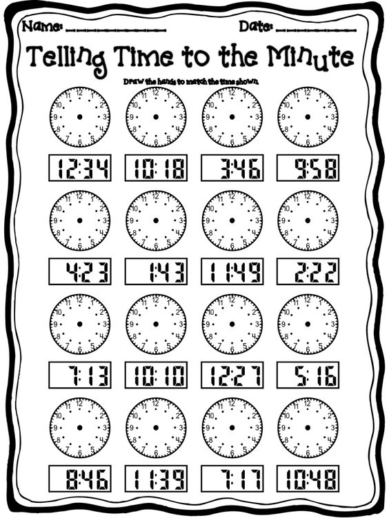 Free Worksheets Time Worksheets Year 8 Free Math Worksheets – 2nd Grade Telling Time Worksheets