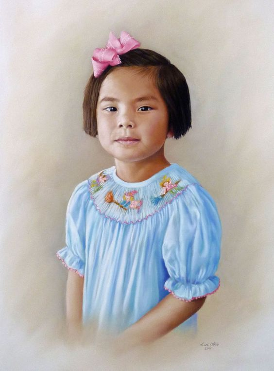 Pastel portraits by artist Lisa Ober