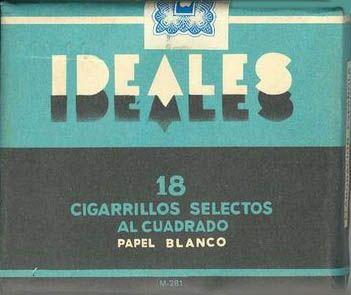 tabacos antiguos,cajetillas tabaco,tabaco,celtas,bisonte,caldo gallina,ideales
