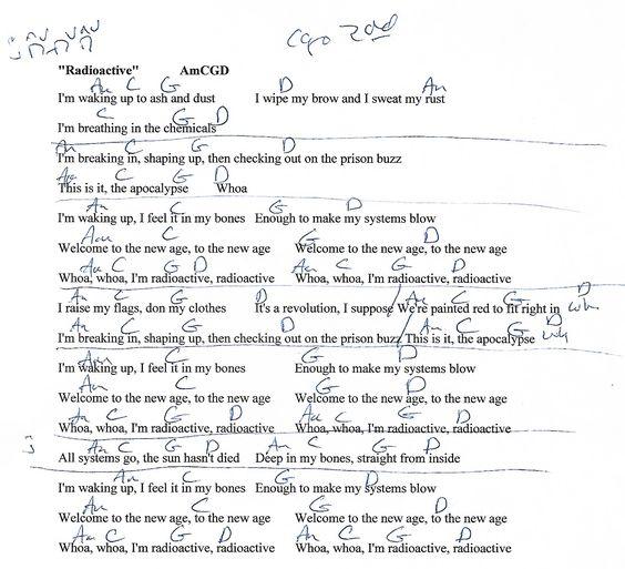 Titanium David Guetta Guitar Chord Chart With Lyrics Httpwww