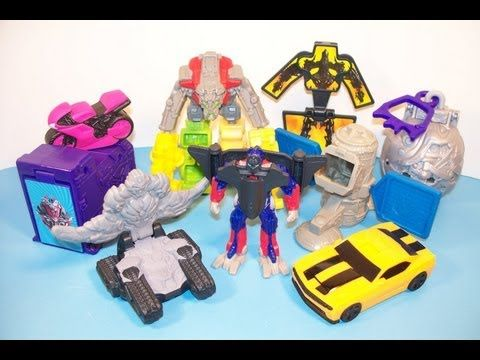 2009 Transformers 2 Revenge Of The Fallen Set Of 8 Burger King Kids Meal Toy S Video Review Youtube Revenge Of The Fallen Toys Kids Meals