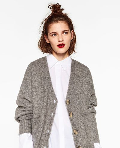 ZARA - WOMAN - V-NECK JACKET