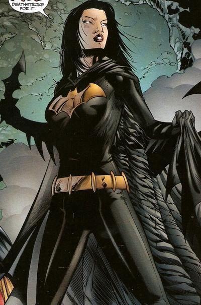 Cassandra Cain, aka Batgirl.