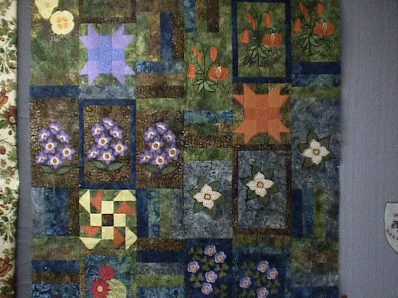spring quilt