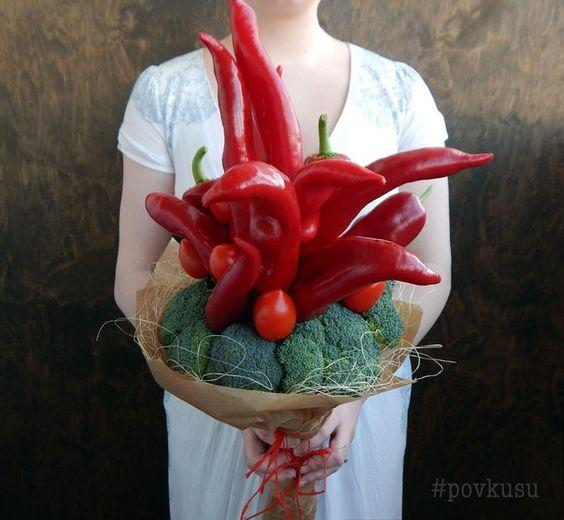 Букет по вкусу   из овощей и фруктов   Минск   ВКонтакте: