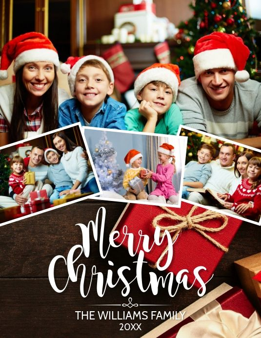 Christmas Card Holiday Poster Christmas Card Template Christmas Templates
