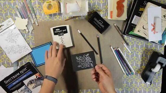 It's Technique Tuesday!  Colored Pencils Part #3
