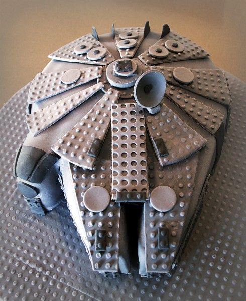 """Whether you're four or 40, a """"Star Wars"""" themed birthday cake is a winner - if you're a fan of the force. So, unleash your inner Jedi with these galactic themed bakes.    Millennium Falcon Cake     Th"""