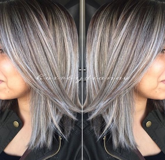 Gorgeous, this is my next hair color because I can!!