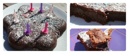 Voici la recette que j'ai pioché chez Happy cooking pour la ronde interblog n°30, c'est un pur délice, je garde cette recette précieusement !! Cette fois c'est Séverine qui est venue choisir une recette chez moi. Pour un gâteau (environ 6 personnes) :...