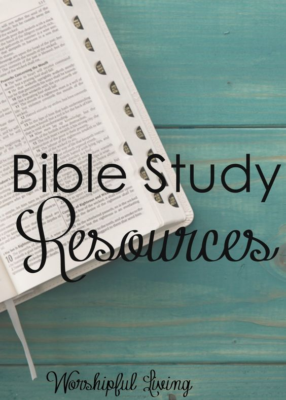 Are you wanting to start reading and studying God's Word, but feel like you are lacking some tools? Here are some of the best Bible Study Resources out there!