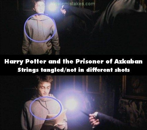 Harry Potter Book Mistakes ~ Noticeable mistakes in the harry potter movies o