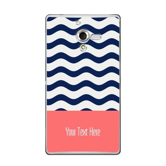 Sony Xperia ZL Nautical Monogram Case