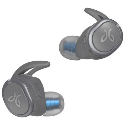 Jaybird Run Xt In Ear Sound Isolating Truly Wireless Headphones Grey With Images Wireless In Ear Headphones