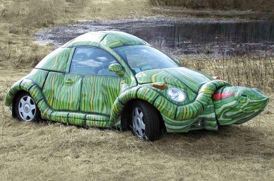 Wacky Art Cars: VW Turtle