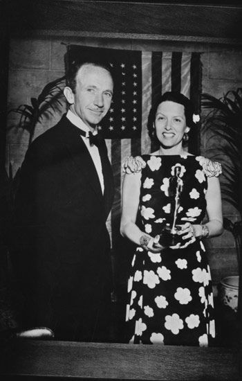 """Best Supporting Actor Walter Brennan (""""Come and Get It"""") and Best Supporting Actress Gale Sondergaard (""""Anthony Adverse"""").:"""