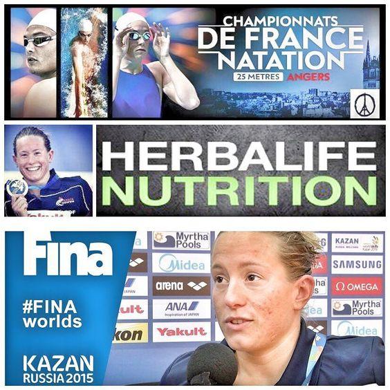 Tous nos encouragement à Aurelie Müller pour les Championnats de France 25m à Angers. Championne du monde du 10Km à Kazan (Russie) en nage libre et athlète sous nutrition Herbalife.