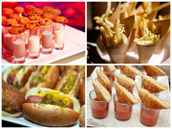 Dicas para oferecer finger foods em seu casamento!