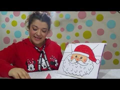 Ho Ho Hoooo Noel Baba Ciziyorumm Noel Baba Nasil Cizilir Resim Ciz