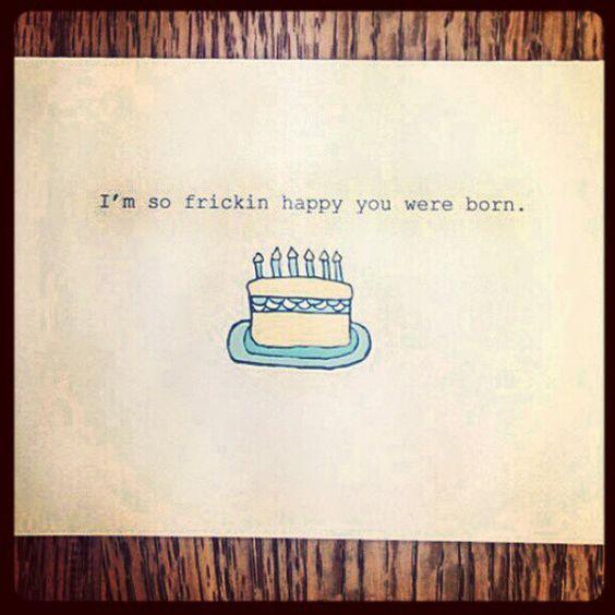 Funny Birthday Card Boyfriend Girlfriend Card by FlairandPaper – Romantic Birthday Card Sayings