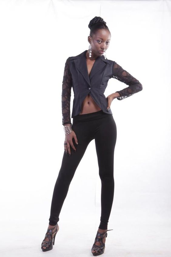 MAKSI - BLACK LACE LUXE BLAZERTo order email info@maksiclothng.com or call +233 24 2370 212