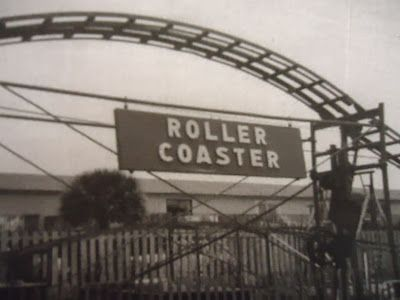 Old Photo Of Tybee Island Amusement Park Savannah