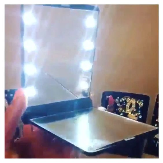 """TODAY ONLY!!! Use code """"VANITY20"""" for 20% OFF all VanityPrimp Mirrors! (Not valid on custom orders) SHOP NOW!  To order yours please VISIT:  www.vanityprimp.com (or click the direct link in bio)  For questions please send detailed email to: vanityprimp@gmail.com ✨ ALL COMPACTS LIGHT UP (and have LED lights)  For pricing/questions  please visit the website, I don't see every question on here. Thank you! #vanityprimp"""