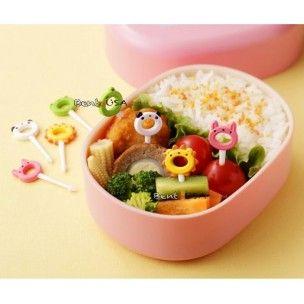 Japanese Bento Accessory Food Pick Cute Animal 8 pcs