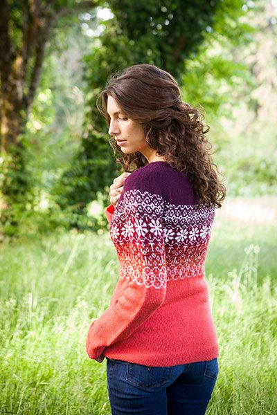 Happily Sweater - Knitting Patterns and Crochet Patterns from ...