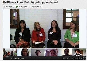 """""""Hanging Out"""" on G+ with the Getting Published Panel"""